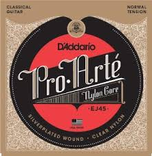 Day D'Addario EJ45 Pro Arte (Nylon) Classical Guitar