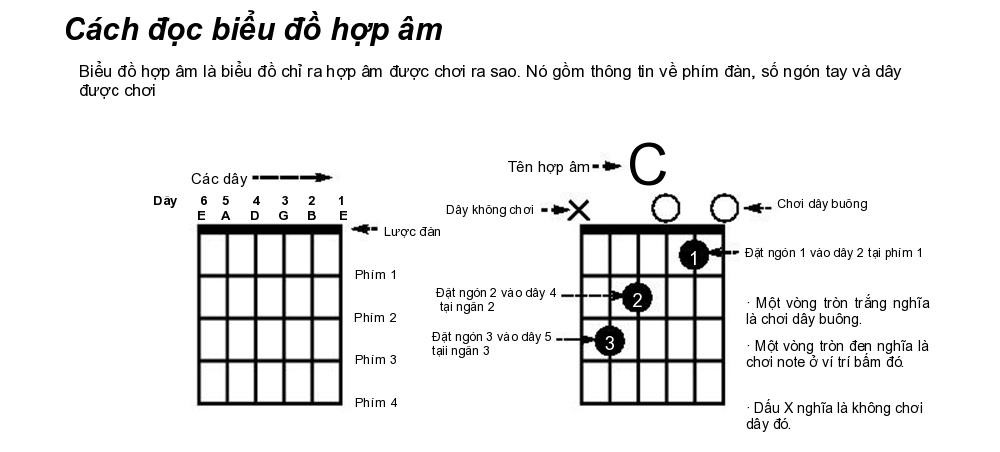 cach doc hop am guitar