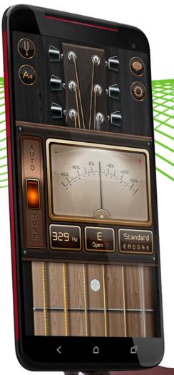 phần mềm hỗ trợ học đàn - guitar tuner