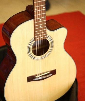 đàn guitar cho người mới tập