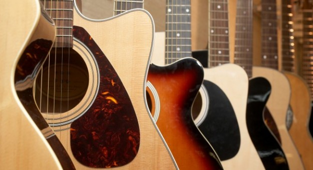 huong dan cach lua chon dan guitar acoustic
